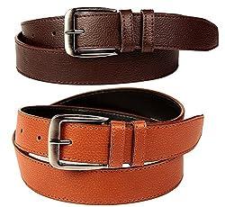 FEDRIGO Brazil Brown & Tan Belt