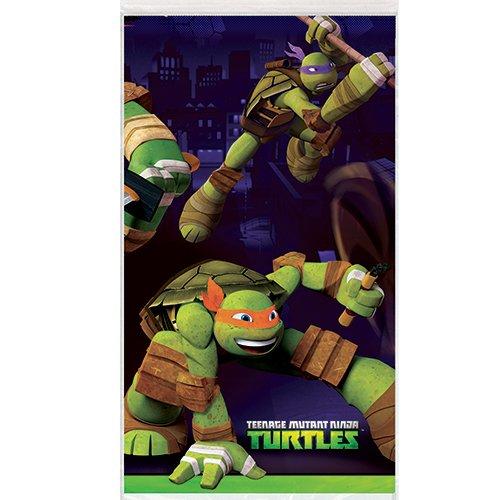 """Teenage Mutant Ninja Turtles Plastic Table Cover, 54"""" x 84"""""""