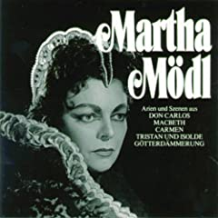Martha M�dl singt