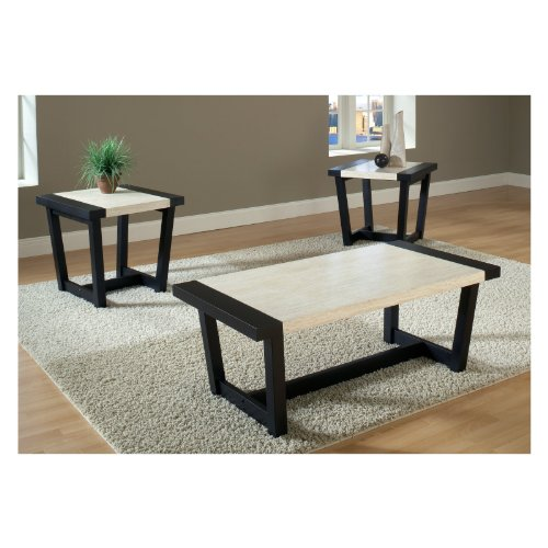 Buy Low Price Atlas 3 Piece Coffee End Table Set Cm4188 3pk Coffee Table Bargain