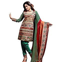 Silk India Women's Vol.3 All Time Hits Dress Material (63_Multicolor)