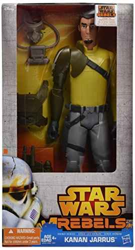 "Star Wars Hero Series 12"" Kanan"