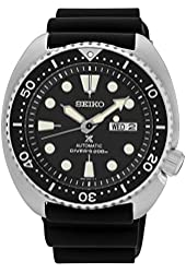 Seiko SRP777 Automatic Diver Black Rubber Strap 45mm Watch