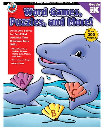 FRANK SCHAFFER PUBLICATIONS WORD GAMES PUZZLES AND MORE PREKBEST BUY BARGAIN PLUS