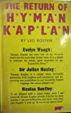 Return of Hyman Kaplan (0140117539) by LEO ROSTEN