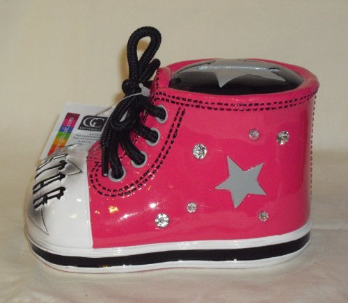 Giftcraft Bootieful Bootique Child's Bank Rock Star 482502