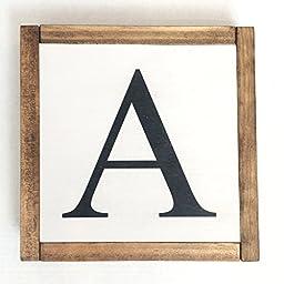 Alphabet, letter, wall decor, wall letter