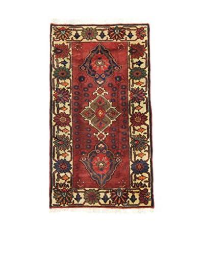 Eden tapijt Hamadan rood 70 x 123 cm