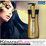 KERATIN BIO-BRAZILIAN TREATMENT KERATIN CURE GOLD & HONEY BIO STRAIGHTENER FORMALDEHYDE FREE PROFESSIONAL TREATMENT 460 ML /15 FL OZ -KERATINA BRASILERA TRATAMIENTO QUERATINA PELO LISO CREAMY FORMULA