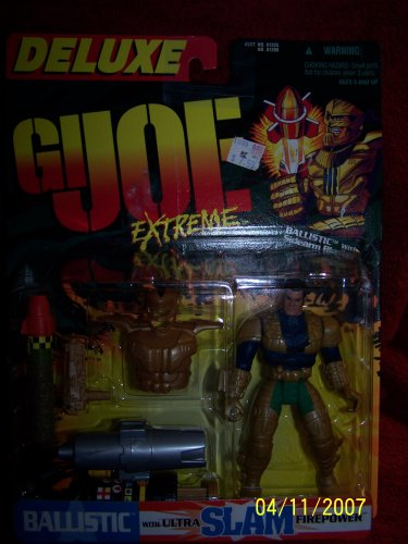 "GI Joe Extreme ""Ballistic"" with ultra slam firepower - 1"