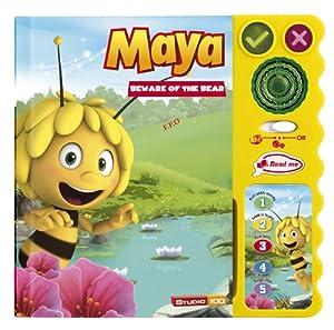 vtech 58065 jouet de premier age magi livre interactif maya l 39 abeille jeux. Black Bedroom Furniture Sets. Home Design Ideas