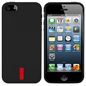 mumbi TPU Silikon Schutzhülle iPhone 5 5S Hülle schwarz von mumbi