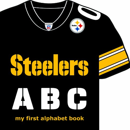 Pittsburgh Steelers ABC: My First Alphabet Book (Team-Board-Books) from SteelerMania