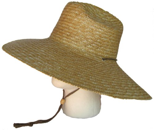 none of the landscapers here wear cowboy hats they wear much wider brimmed  things like these.