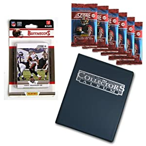 NFL Tampa Bay Buccaneers Complete 2012 Score Bucs Team Set with Bonus Packs and Album by Panini
