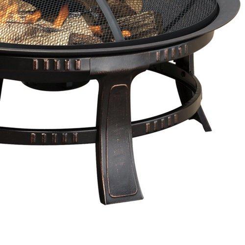 Pleasant-Hearth-OFW106R-Brant-30-Inch-Outdoor-Wood-Burning-Circular-Wood-Burning