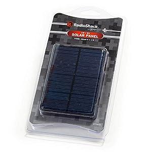 Amazon Com Radioshack 1w Watt Solar Panel 9v 4 33 Quot X 3