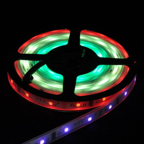 Dream Color Dc12V Led Strip 5050 Smd Ic6803 Sleeving Waterproof Ip67 30Leds/M 5M 36W