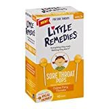 Little Remedies Sore Throat Lollipop, Natural Honey, 10 Count (Pack of 2)