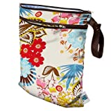 Planet Wise Wet/Dry Diaper Bag, April Flowers