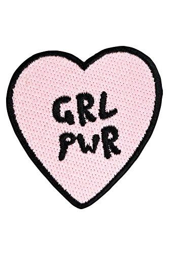 likalla-herz-aufnaher-aufbugler-grl-pwr-rosa-und-schwarz-gestickt-freches-girl-power-iron-on-patch-z