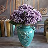 French Rose Artificial Silk Peony Flower Arrangement Room Hydrangea Decor