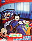 Disney Mickey Mouse 4pc Toddler Bedding Set ''Genuine Licensed''