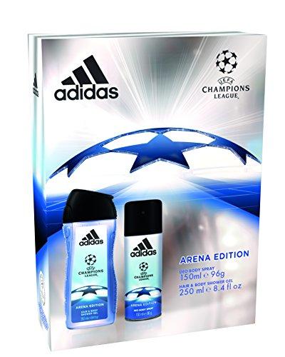 Adidas UEFA Arena Edizione Spray Corpo E Gel Doccia Duo