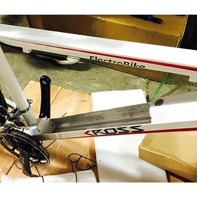 21-Speed Electric Mountain Bike by ElectroBike - Cross (White)