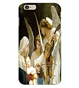 ColourCraft Lord Mother Merry with Jesus Back Case Cover for APPLE IPHONE 6 PLUS