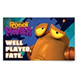 Robot & Monster: Well Played Sticker - Rectangle