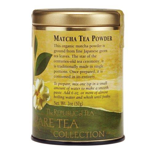 Organic Tea Matcha Powder, 2 Oz/25-30 Cups