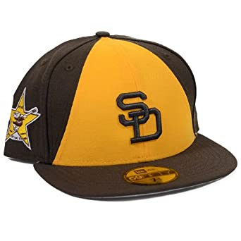 San Diego Padres 1978 All Star Patch Redux Fitted Hat by New Era