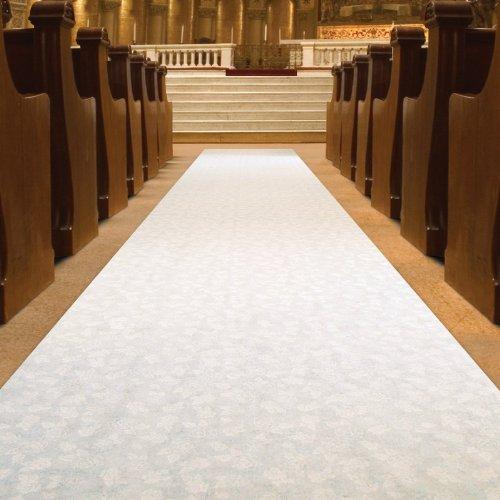 Elite Wedding Aisle Runner White COLOR