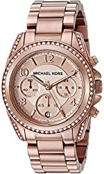 Michael Kors Women's Blair Rose Gold-Tone Watch MK5263