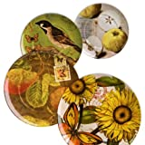 Weachtersbach Accents Natures Plates Assorted Set Of 4