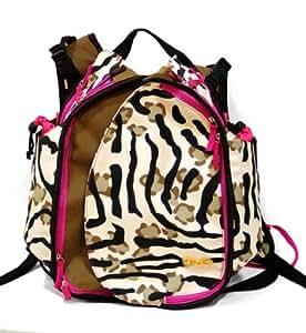 Boogaloo Zebra Diaper Bag