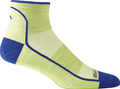 Darn Tough Ultra Light 1/4 Sock - Men's Wasabi Large