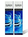 2-pack Compatible to PUR Kenmore Whirlpool Filter up to 300 Gallons Water Filter Replacement 4396710, 469020, W10186667