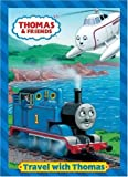img - for Travel with Thomas (Thomas & Friends) (Deluxe Coloring Book) by Golden Books [2007] book / textbook / text book