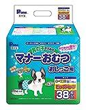 P.one 男の子のためのマナーおむつおしっこ用 小~中型犬 ビッグパック 38枚
