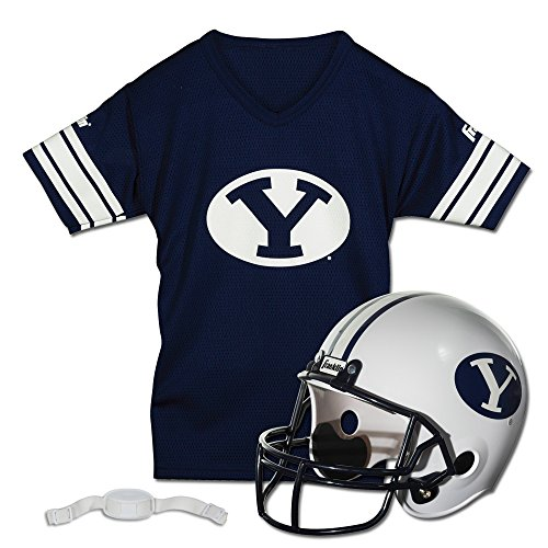 Franklin Sports NCAA Brigham Young Cougars Helmet and Jersey Set (Ncaa Football 2010 compare prices)