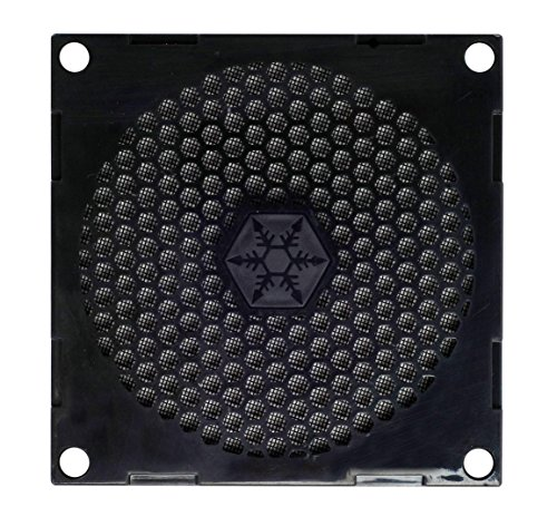 SilverStone 80mm Fan Filter with Grill FF81B (Black) (Fan For Grill compare prices)