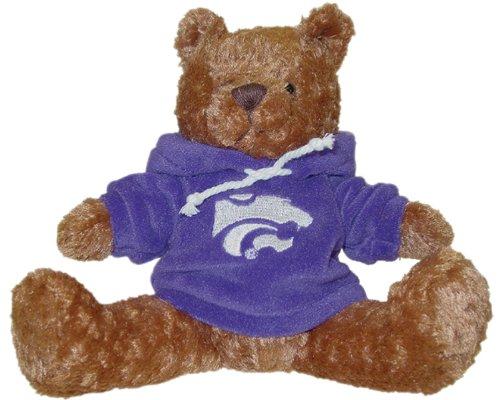 NCAA Kansas State Wildcats Hoodie Bear
