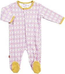 Magnificent Baby Baby Girls\' Footies - Girls Marrakesh - 6M