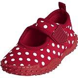 Playshoes Aquaschuhe, Badeschuhe Punkte mit höchstem UV-Schutz nach Standard 801 174776 Mädchen Aqua Schuhe