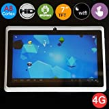 "Dual Camera 7"" inch A13 Allwinner 1Ghz CPU 512 MB RAM Android Tablet PC (White)"