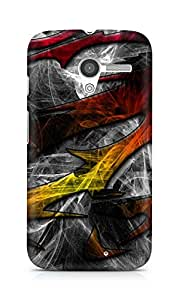 Amez designer printed 3d premium high quality back case cover for Motorola Moto X (Pattern design)