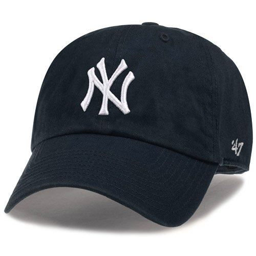 New York and the Yankees MLB casuals Cap (CLEAN UP CAP) ' 47 Brand