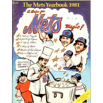 1981 New York Mets Yearbook at Amazon.com